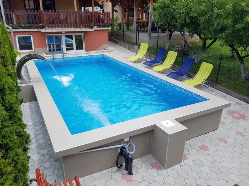 Apartmani Lukić Sokobanja bazen