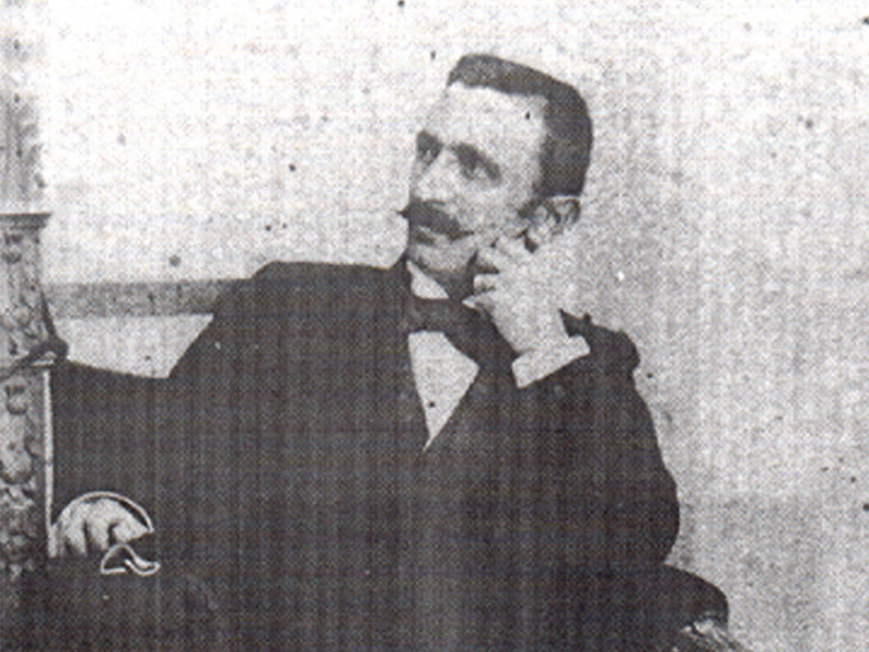 Branislav Nušić u Sokobanji