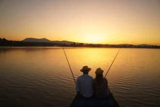pecanje u dvoje bovansko jezero